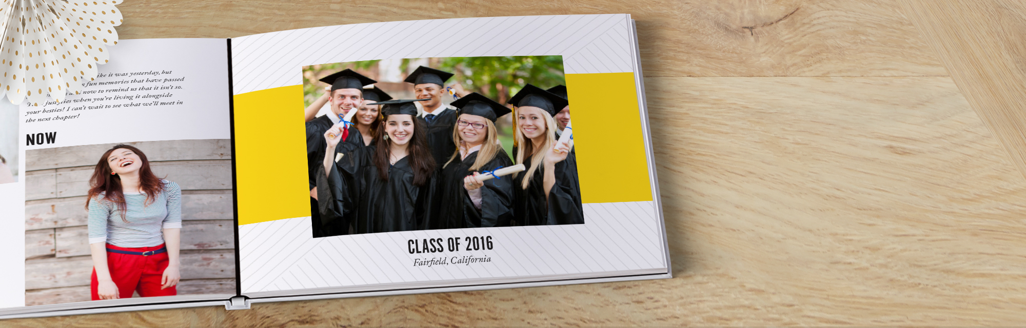 Best in class : Celebrate your milestone achievement with an A+ design and hardcover book with layflat pages.